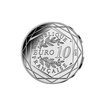Astérix - 10€ en argent