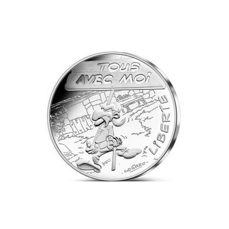 Astérix - Liberté : Agecanonix 10€ en argent