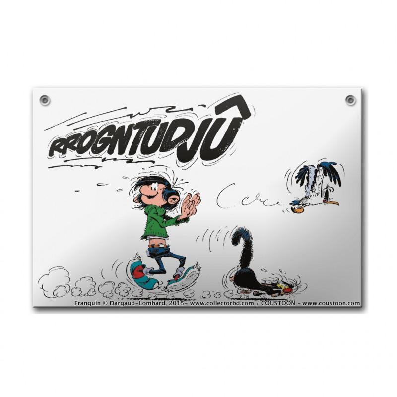 Franquin - Gaston Lagaffe: Rrogntudjû