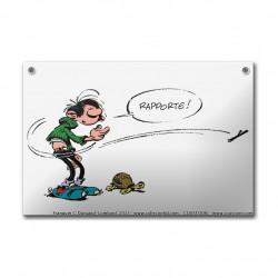 Franquin - Gaston Lagaffe et sa tortue