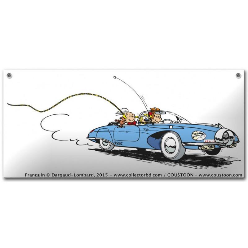 Franquin - Spirou et Fantasio : la Turbotraction