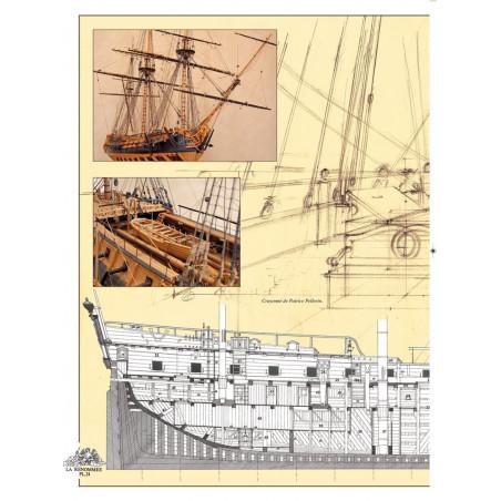 L'Epervier - T9 - extrait du cahier graphique
