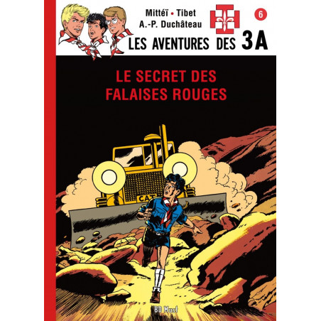 Les 3 A - T6: Le Secret des Falaises Rouges