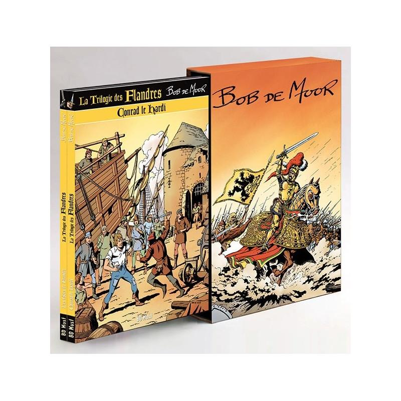 Bob De Moor : Coffret Trilogie des Flandres (3 albums sous coffret)