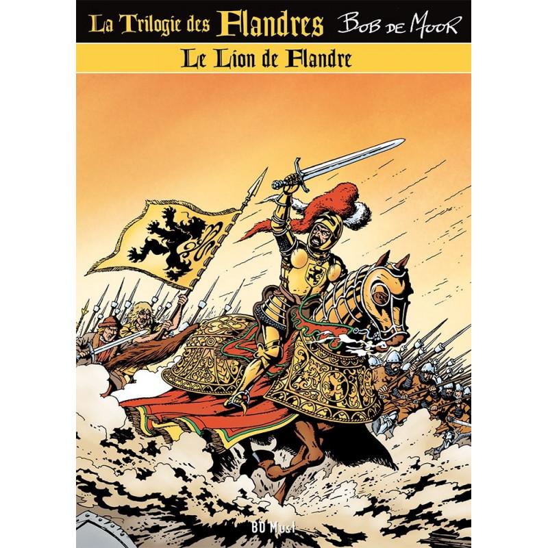 Bob De Moor : Trilogie des Flandres (3 albums avec ex-libris)