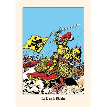 Bob De Moor : Le Lion des Flandres - ex-libris