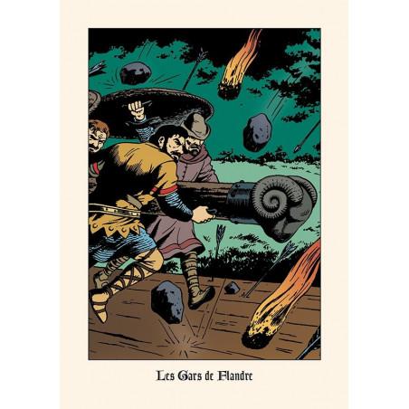 Bob De Moor : Les Gars de Flandre - ex-libris