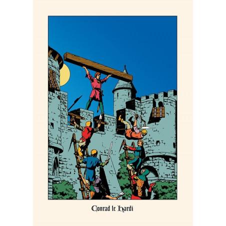 Bob De Moor : Conrad le Hardi - ex-libris