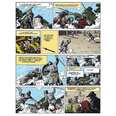 Bob De Moor : Les Gars de Flandre - planche