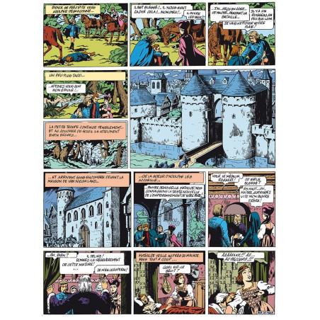 Bob De Moor : Le Lion des Flandres - planche