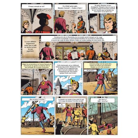 Bob De Moor : Conrad le Hardi - planche