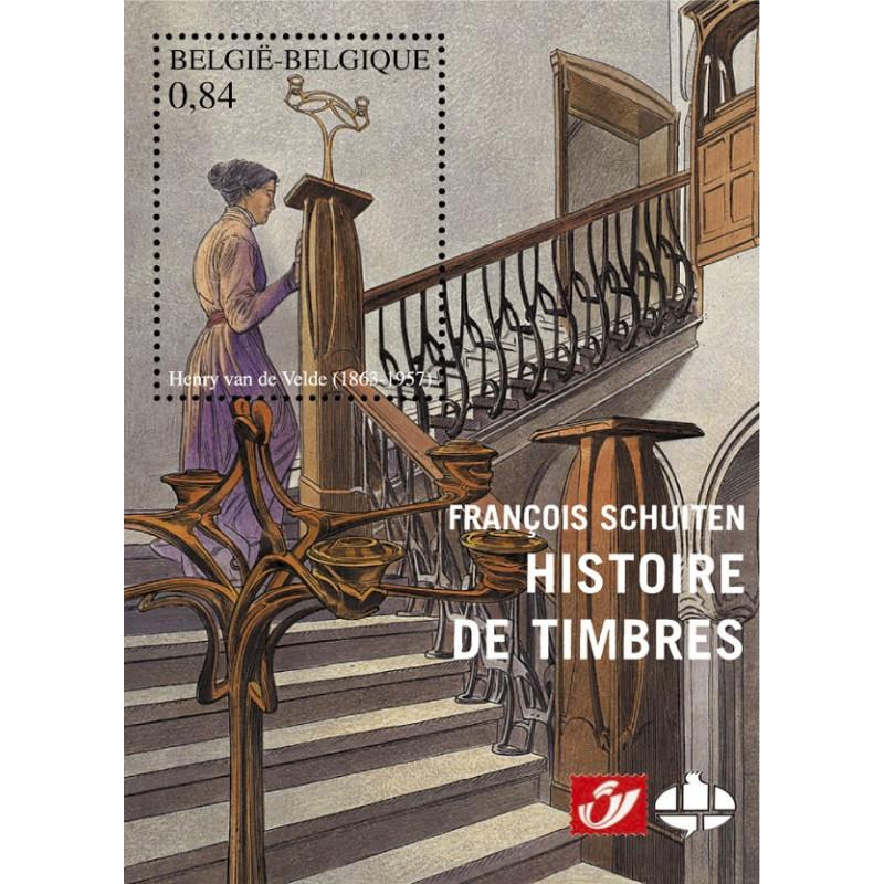 François Schuiten : Histoires de timbres (Tirage normal)