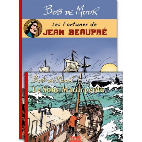 Les inédits de Bob De Moor: Jean Beaupré + Le sous-marin perdu