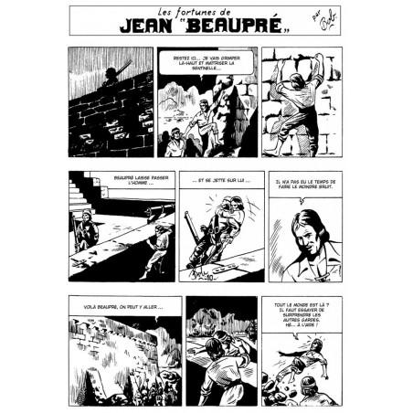Les inédits de Bob De Moor: Jean Beaupré - extrait