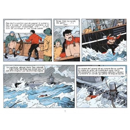 Les inédits de Bob De Moor: Le sous-marin perdu - extrait