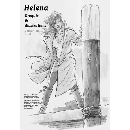 Helena - TL1: Les Malles de Raz Fadraz - carnet de croquis