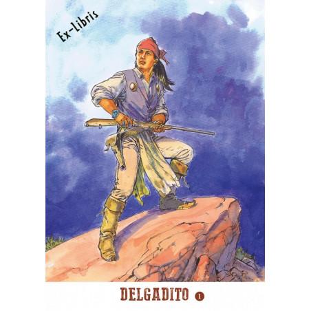 Delgadito - TL 1: Le Choix de l'Aigle - ex-libris