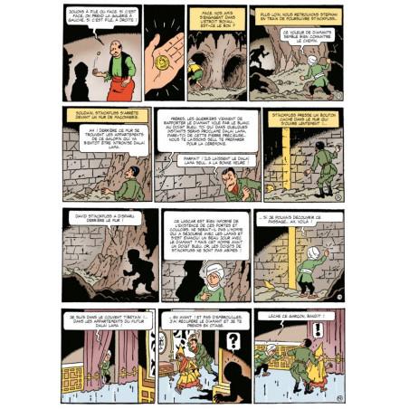 Oncle Zigomar (Bob De Moor) - Le doigt bleu -p36