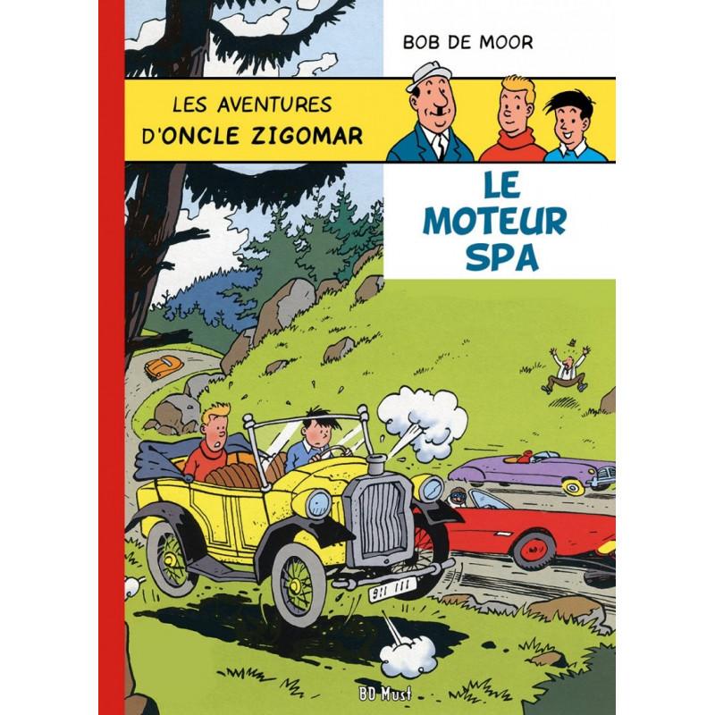 Oncle Zigomar (Bob De Moor) - Le moteur Spa