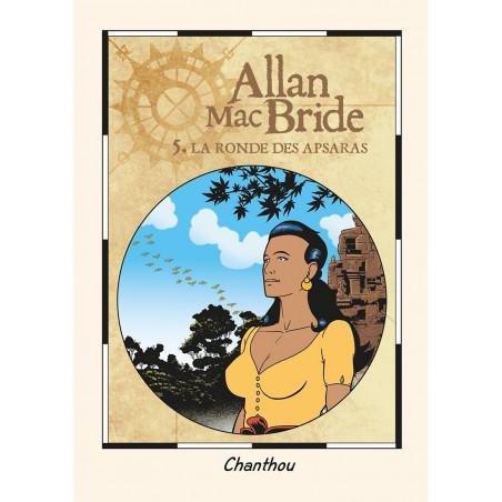 Allan Mac Bride - T5: La ronde des Apsaras - ex-libris