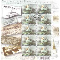 Vance : feuillet Zenobe Gramme (10 timbres)