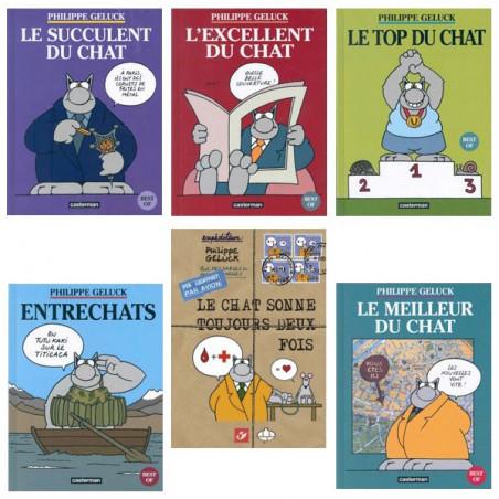 Le Chat - pack collector (6 albums timbrés)