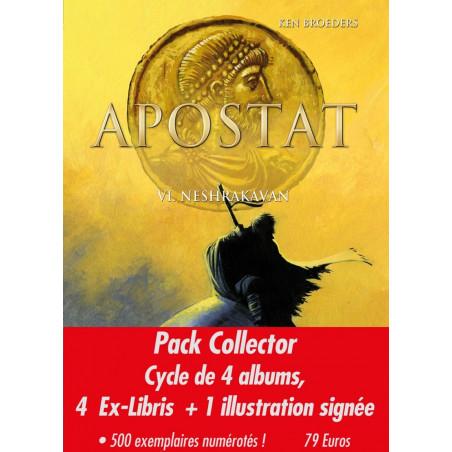 Apostat - pack collector 2e cycle (4 albums avec ex-libris)