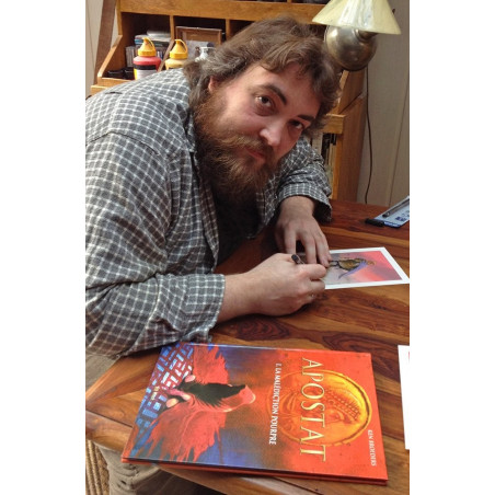Apostat - Ken Broeders, l'auteur