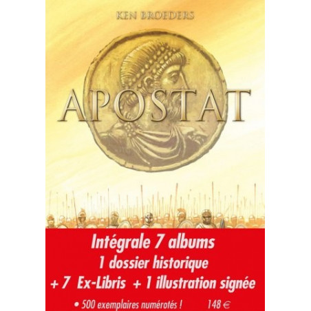 Apostat - pack collector intégrale