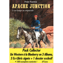 Apache Junction - pack collector 3 albums avec ex-libris
