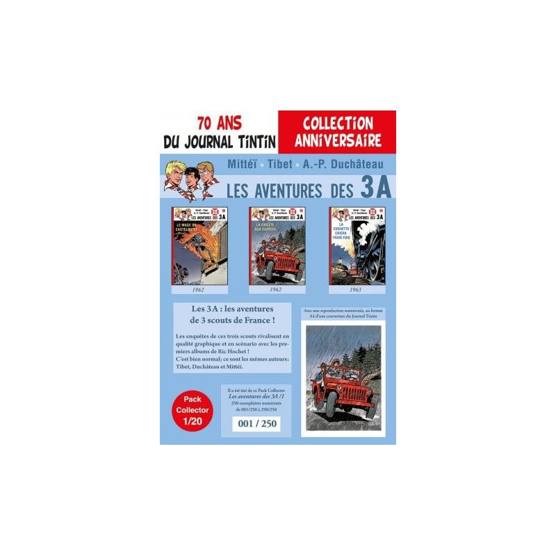 Les 3A T1-2-3 - pack 70 ans du Journal Tintin 1/20