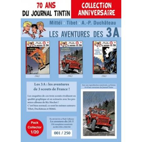 Les 3A - pack 70 ans du Journal Tintin 1/20