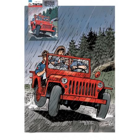 Les 3A - Couverture du Journal Tintin