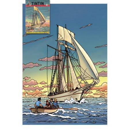 Barelli - Illustration Journal Tintin