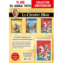 Le Chevalier Blanc - pack 70 ans Journal Tintin 2