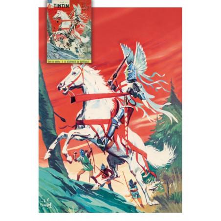 Le Chevalier Blanc - couverture Tintin