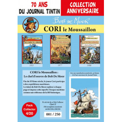 Cori le Moussaillon - pack 70 ans Journal Tintin 4/20