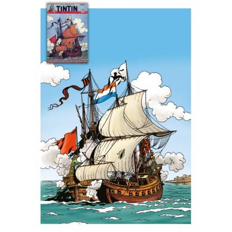 Cori le Moussaillon - couverture Tintin