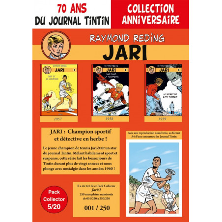 Jari T1-2-3 - pack 70 ans Journal Tintin 5/20