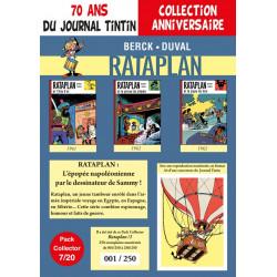 Rataplan T1-2-3 - pack 70 ans Journal Tintin 7/20