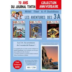 Les 3A T4-5-6 - pack 70 ans du Journal Tintin 8/20