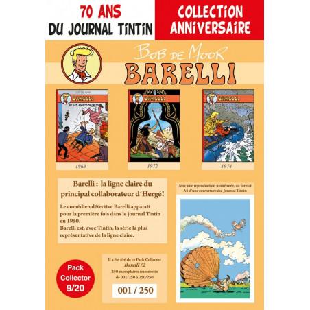 Barelli T4-5-6 - pack 70 ans Journal Tintin 9/20