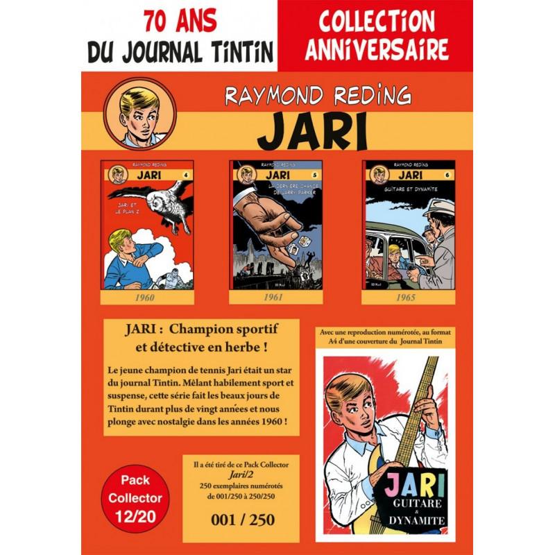 Jari T4-5-6 - pack 70 ans Journal Tintin 12/20
