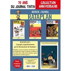 Rataplan T4-5-6 - pack 70 ans Journal Tintin 13/20