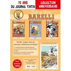 Barelli T7-8-9 - pack 70 ans Journal Tintin 15/20