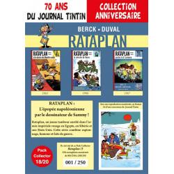 Rataplan T7-8-9 - pack 70 ans Journal Tintin 18/20
