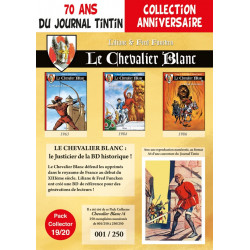 Chevalier Blanc T10-11-12 - pack 70 ans Journal Tintin 19/20