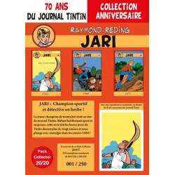 Jari T10-11-12 - pack 70 ans Journal Tintin 20/20