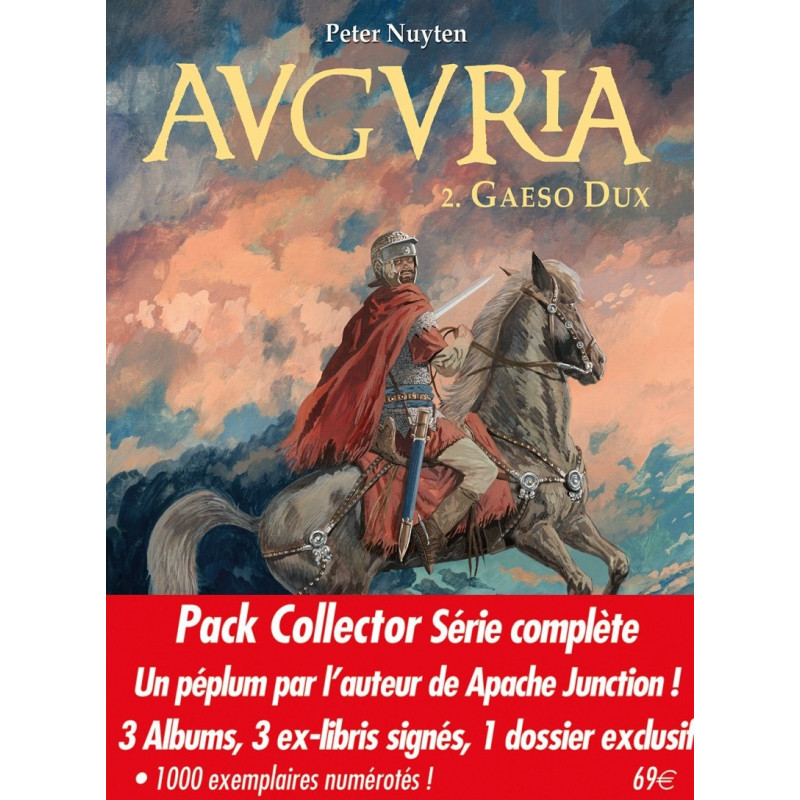 Auguria - Pack collector 3 albums (T1-2-3)