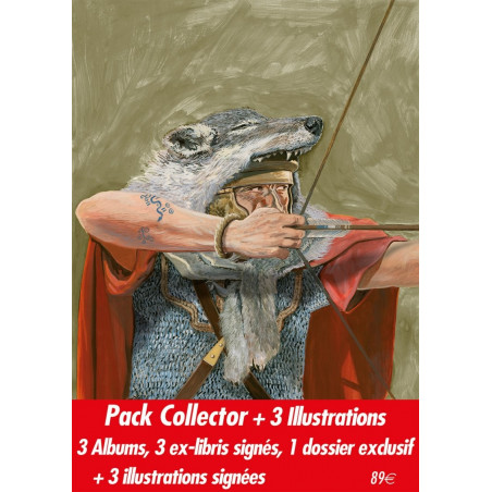 Auguria - Pack collector + 3 illustrations